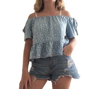 Heart and Hips Off The Shoulder Top